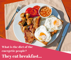 eat breakfast differently for health